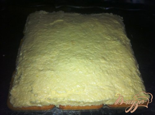 Торт-салат с крекерами и тунцом