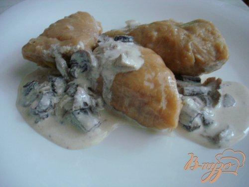 Голубцы с мясом и грибами