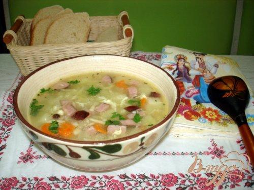 Крестьянский суп *Затируха*