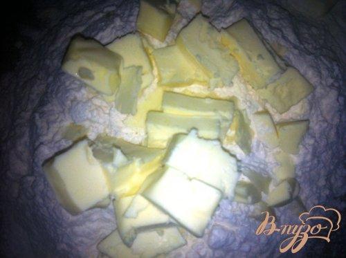 Киш лорен или пирог с луком и ветчиной