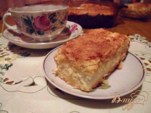 """Пирог с творогом и яблоками """"Нежность"""""""