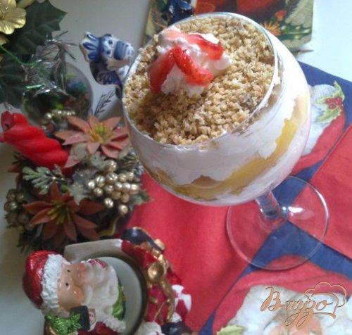 """Десерт """"Новогоднее наслаждение"""""""