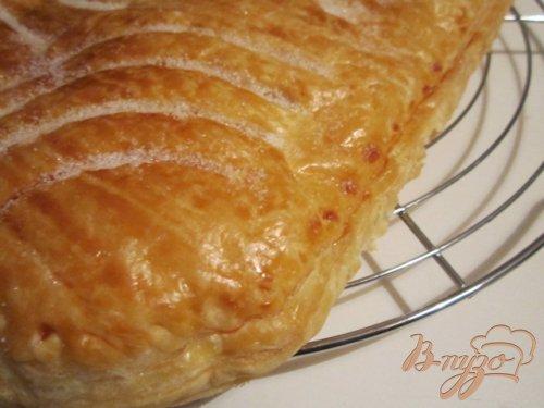Слоеный пирог с франжипаном