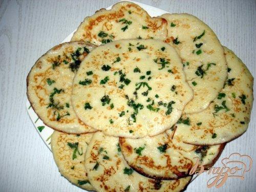 Картофельные тонкие блинчики