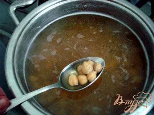 Суп из турецкого горошка нута