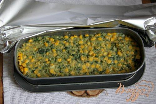 Фасолево-овощной террин
