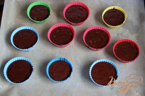 Заварные шоколадные кексы