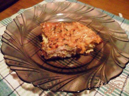 Рыба в сырном суфле