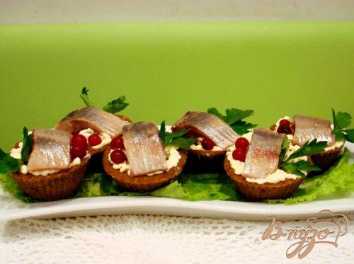 Хлебные корзиночки закусочные