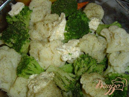 Куриная грудка запеченная , с овощным гарниром