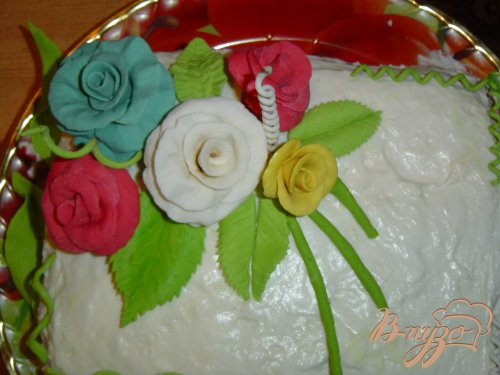 """Торт """"Цветы для мамы"""""""