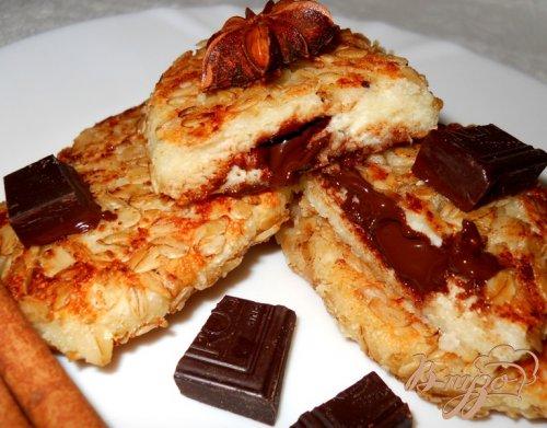 Сырники с шоколадной начинкой