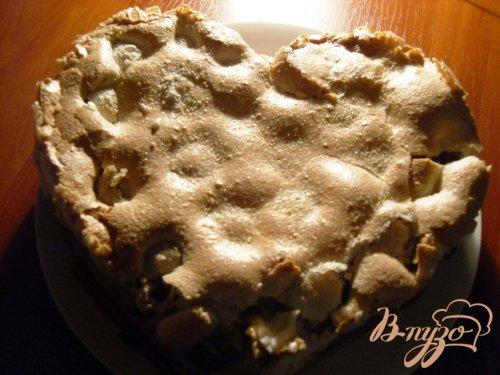 Пирог с абрикосами