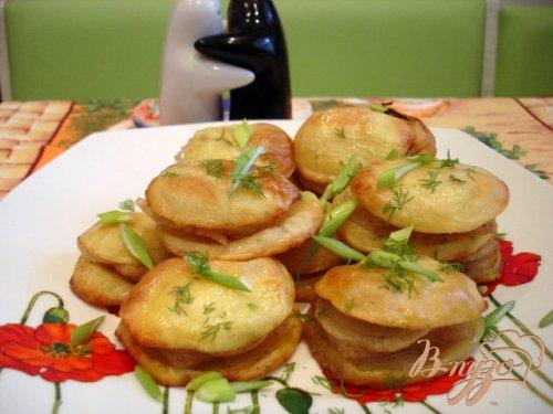Картофель запеченный с салом по-украински