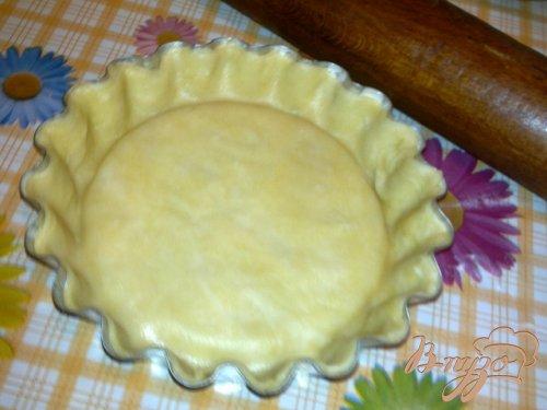 Тарт со сметанным кремом и шелковицей