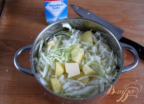 Ирландское картофельное пюре Colcannon