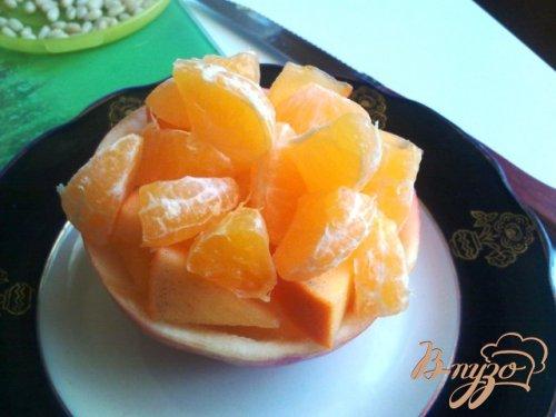 Зимний, фруктовый десерт