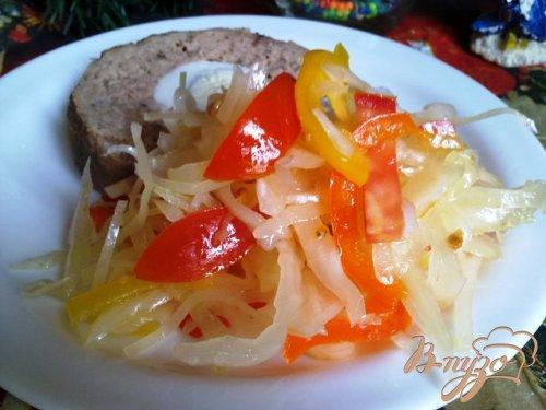 "Овощной салат ""Зимний"""