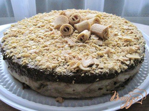 Грушево-шоколадный торт