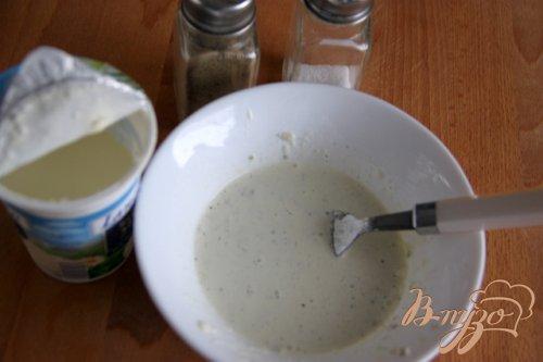 Салат из брокколи с сырной заправкой