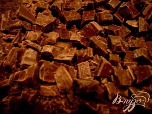 """Десерт  """"Снежки""""  с  шоколадом"""