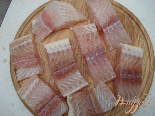 Рыбное филе, запеченное под сыром