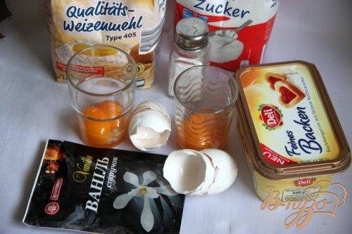 Немецкое рождественское печенье Mürbchen