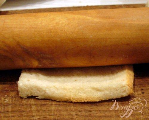 Пирожки из тостерного хлеба