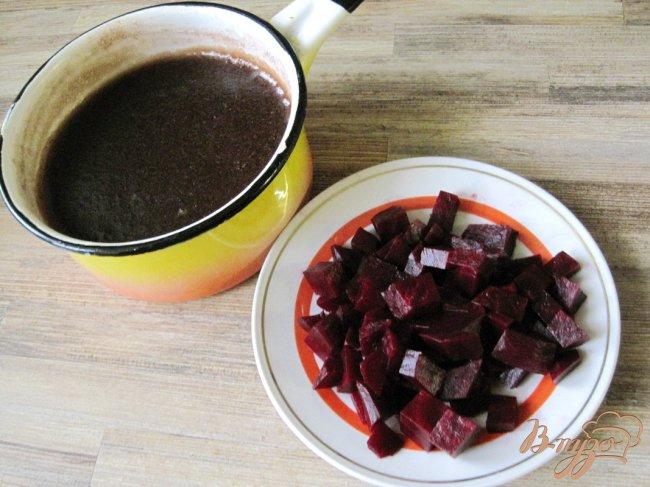 Фото приготовление рецепта: Кисло-сладкая свекла шаг №3