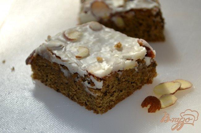 Фото приготовление рецепта: Блонди с кофейно-ирландским вкусом шаг №5