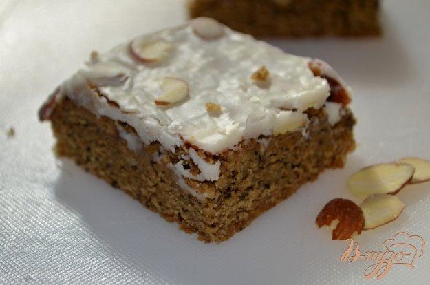 фото рецепта: Блонди с кофейно-ирландским вкусом