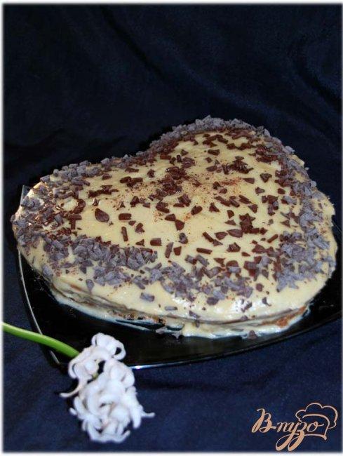 Фото приготовление рецепта: Итальянский кекс с французским кремом. шаг №10