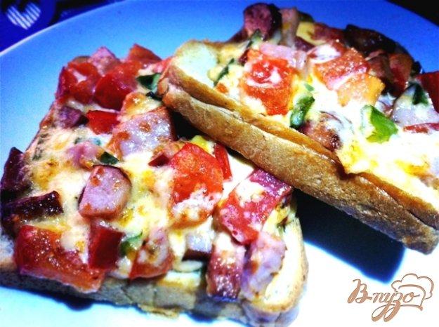 Рецепт Горячие закусочные бутерброды