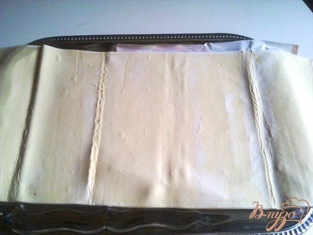 Фото приготовление рецепта: Слоеные рогалики с мармеладом. шаг №1