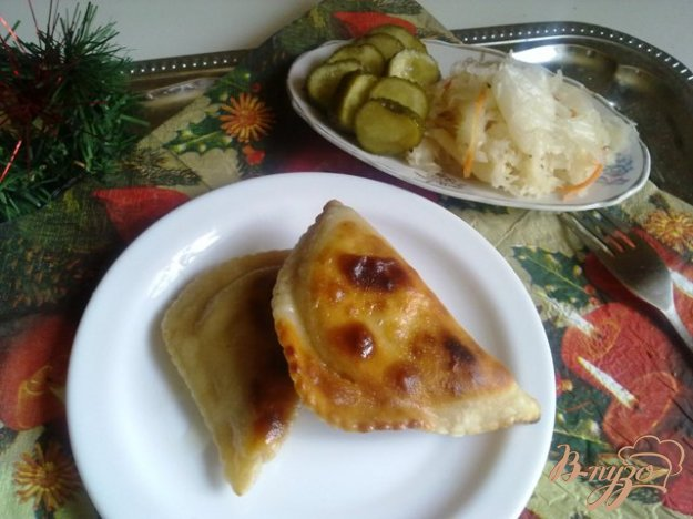 Рецепт Чебуреки с мясом.