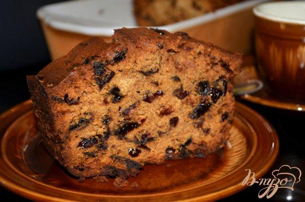 фото рецепта: Фруктовый кекс на стауте