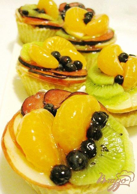 Рецепт Корзинки с фруктами