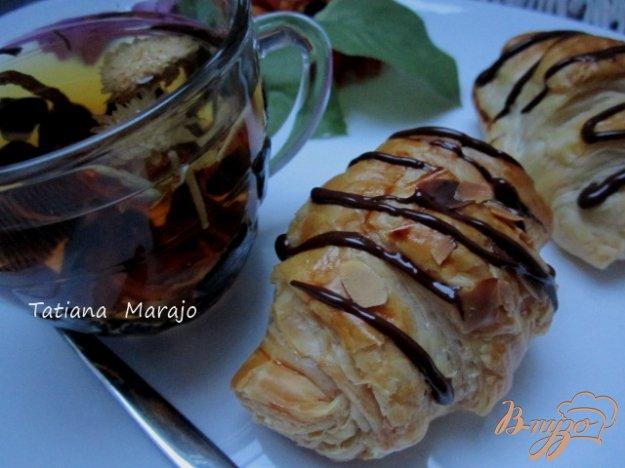 Рецепт Круассаны с шоколадным франжипаном