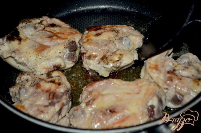 Фото приготовление рецепта: Курица с медово-пивным соусе шаг №1