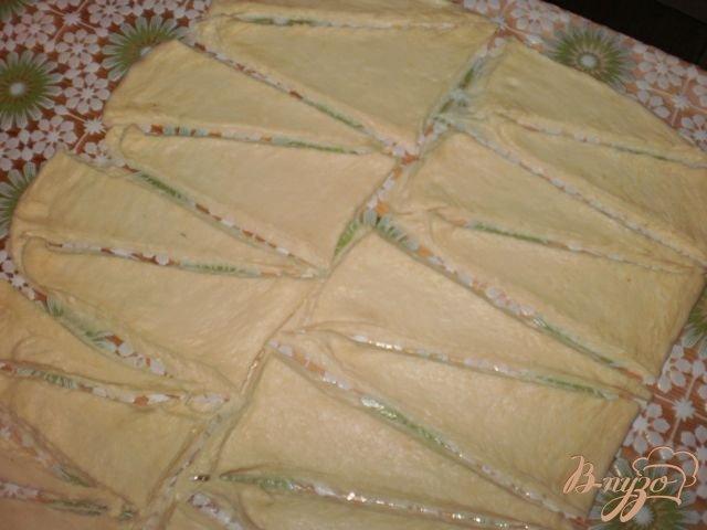 Фото приготовление рецепта: Мини-круассаны шаг №9