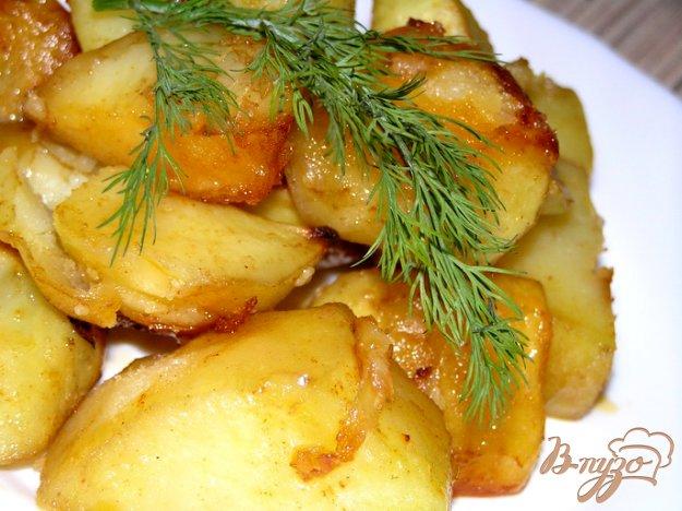 Рецепт Запеченный картофель с чесноком и паприкой