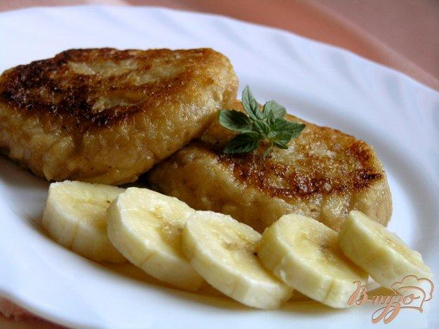 Рецепт Яблочные оладьи с бананом