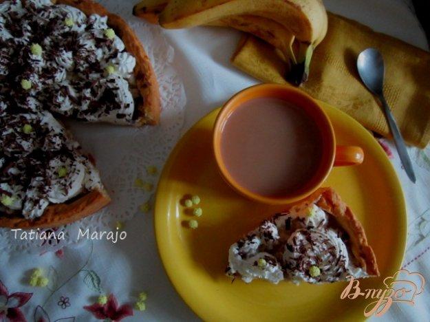 Рецепт Банановый тарт со взбитыми сливками
