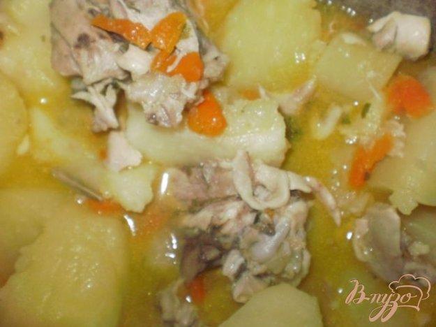 Рецепт Картофель тушеный с мясом