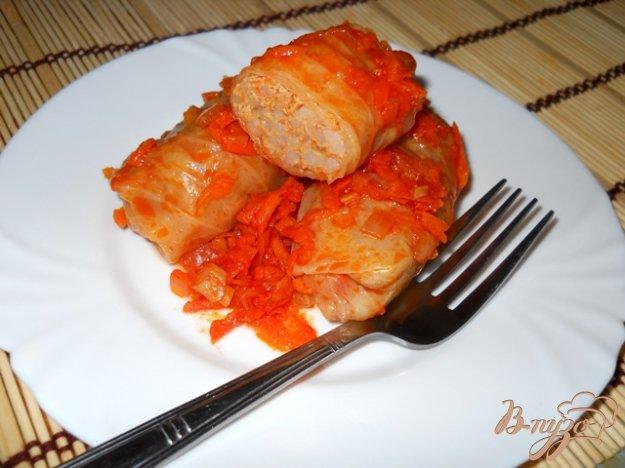 Рецепт Голубцы под томатным соусом