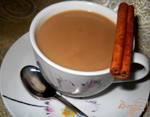 Рецепт Пряный кофе с молоком