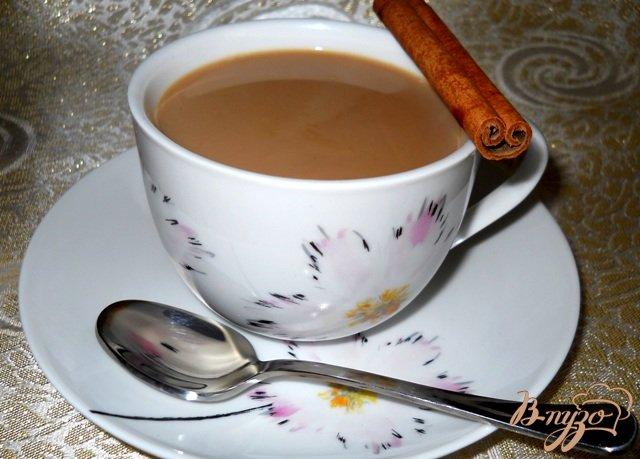 Фото приготовление рецепта: Пряный кофе с молоком шаг №3