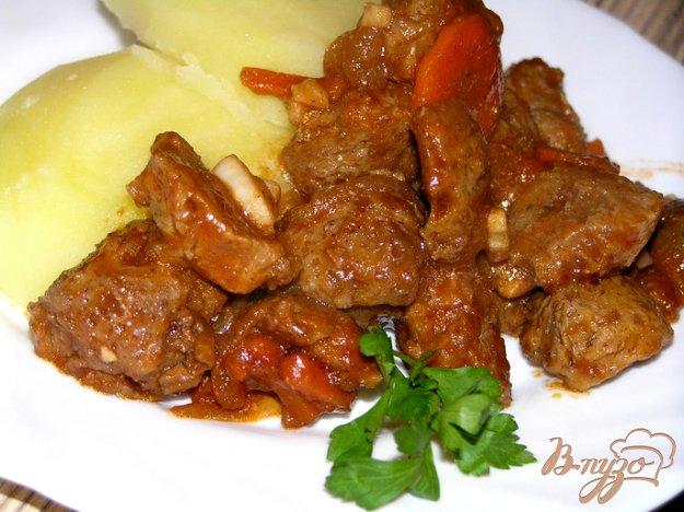 Рецепт Соевое мясо по-индийски