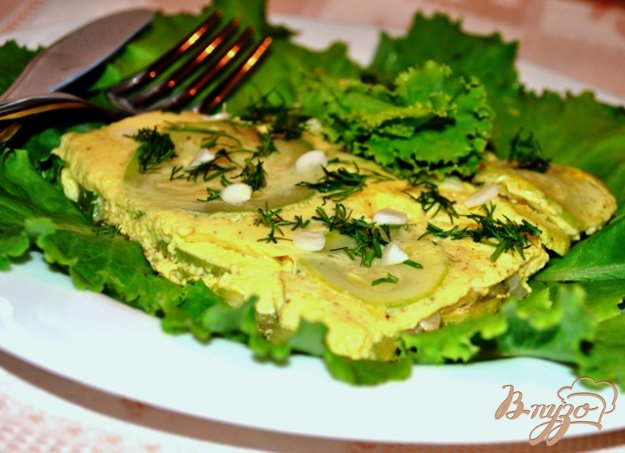 фото рецепта: Омлет с кабачками