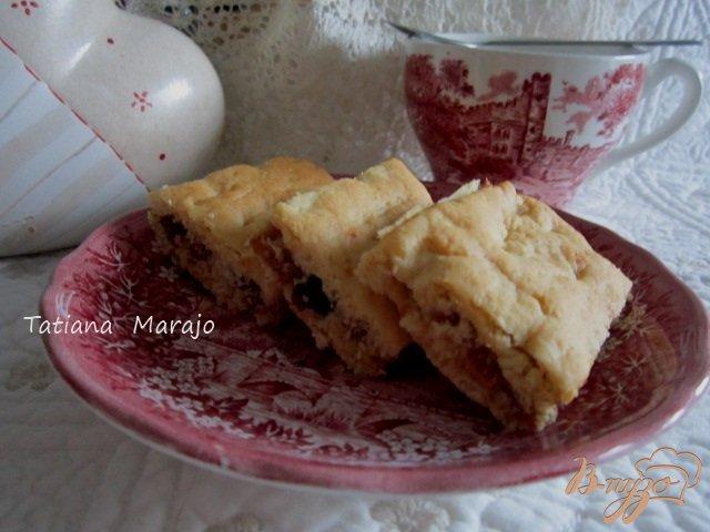 Фото приготовление рецепта: Рассыпчатое печенье с сухофруктами шаг №10